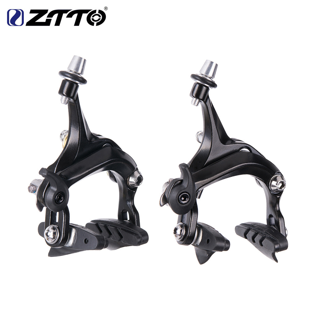 ZTTO Road Bike V Brake Racing Dual Pivot C Brake Aluminum Side Pull Caliper Road Bicycle Parts Brake kit