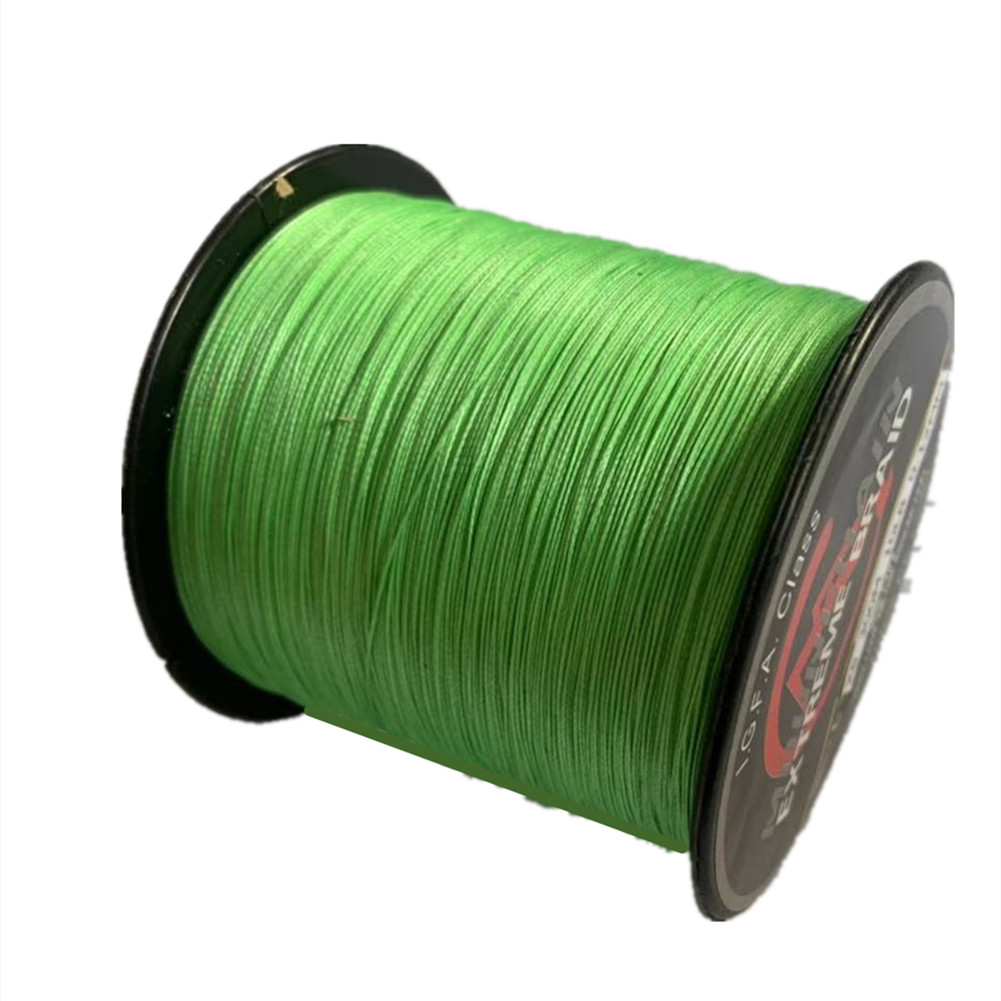 1000 M Fishing  Line 8 Strands Pe Strong Pull Fishing Line Fishing Tackle Cui Green_1000m_10LB/0.12mm