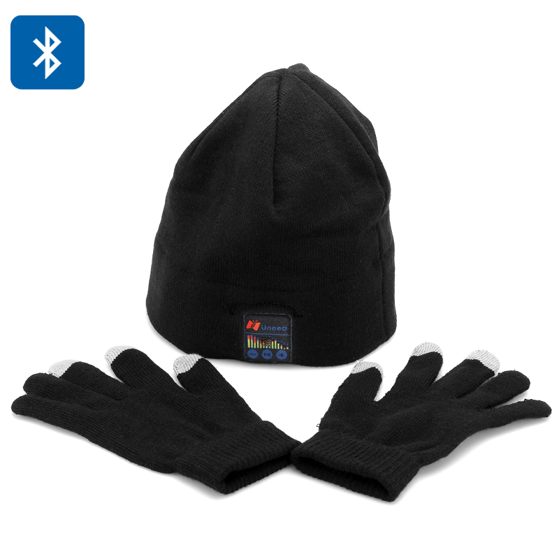 Uneed Bluetooth Hat + Touch Gloves Set