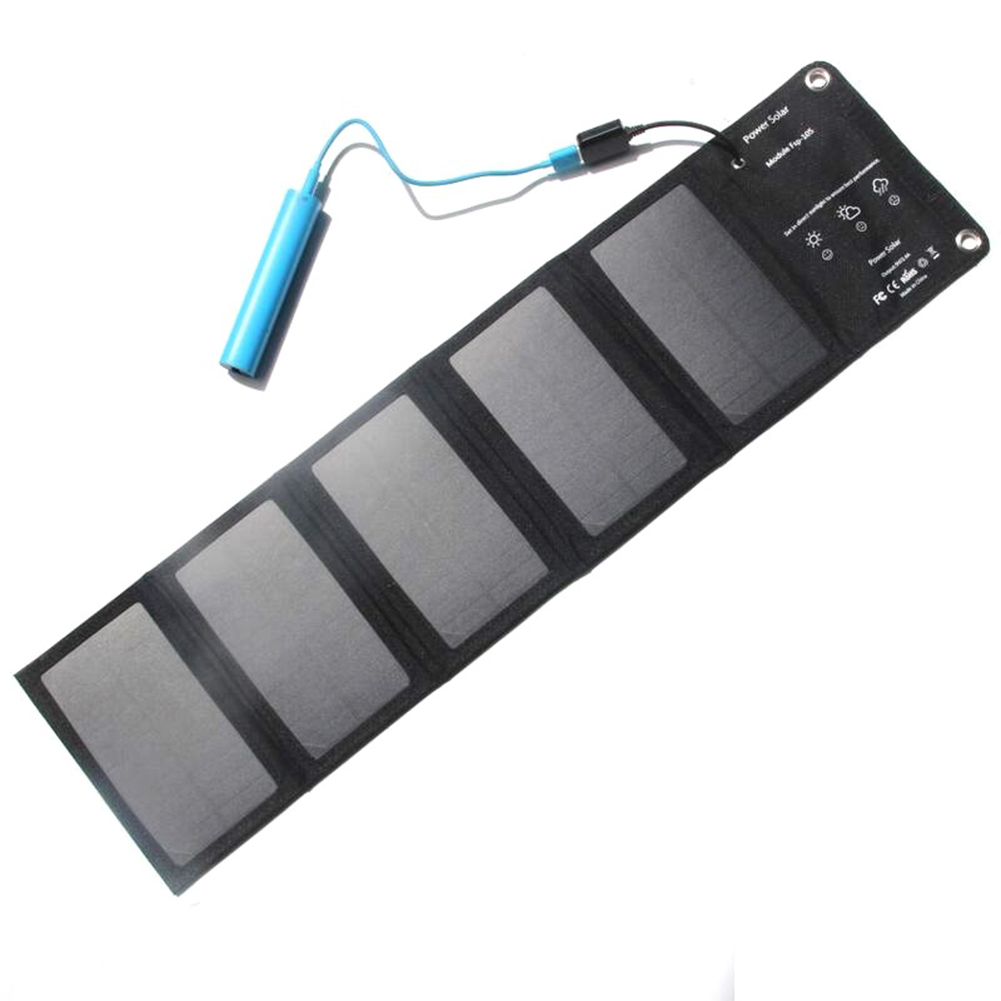 Portable Foldable Outdoor 10W Solar Panel Solar Charger Battery Charger for Phone 10W