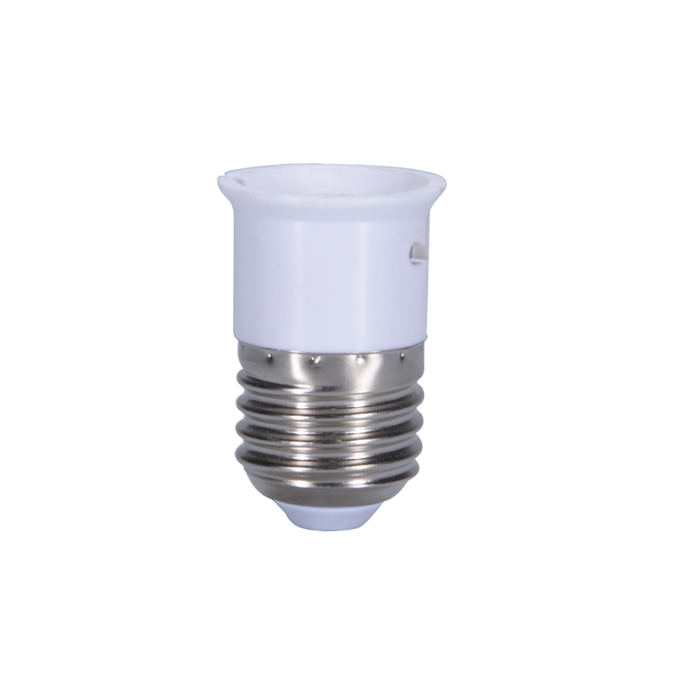 E27 to B22 Light Lamp Bulb Socket Base Converter Edison Screw to Bayonet Cap