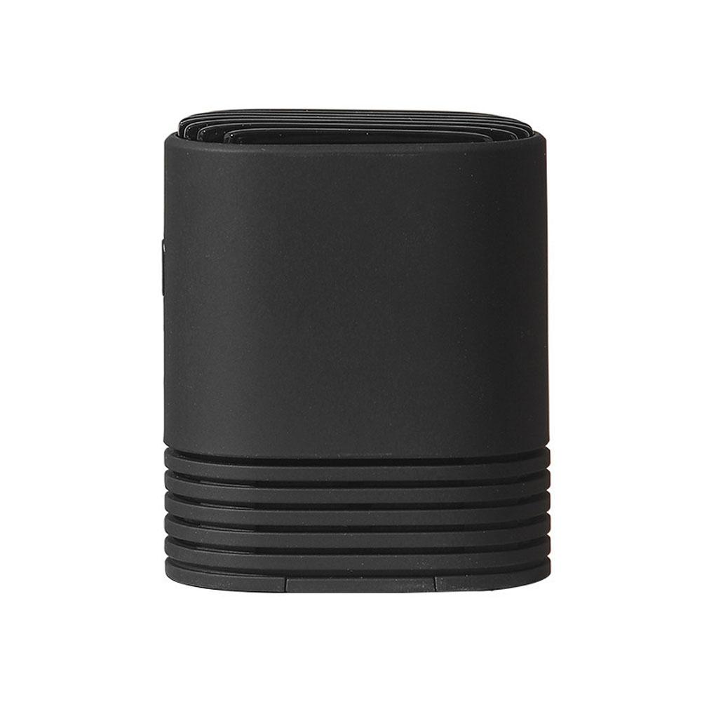 Wearable PM2.5 Air Purifier Mini Air Necklace Negative Ion Air Freshener black