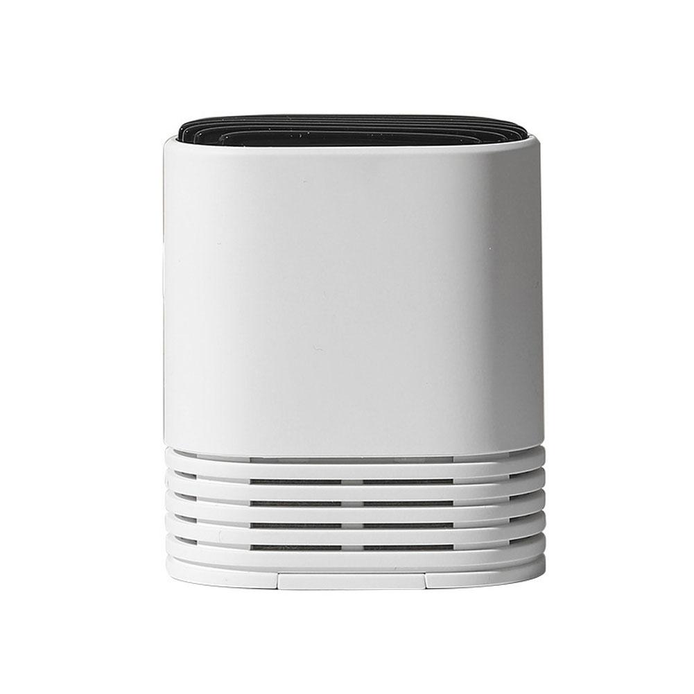 Wearable PM2.5 Air Purifier Mini Air Necklace Negative Ion Air Freshener white