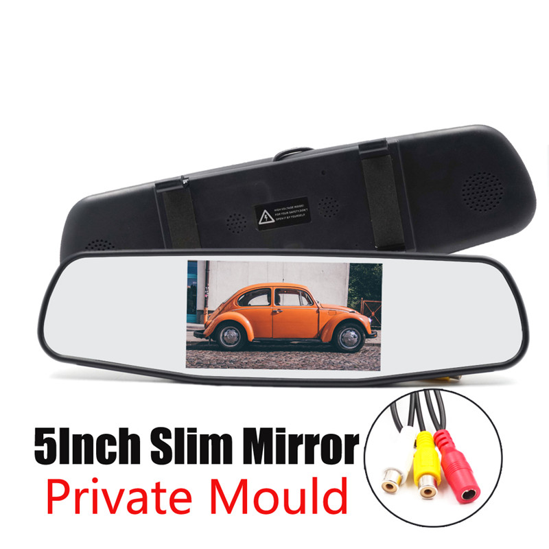 5 Inch Car Mirror Monitor