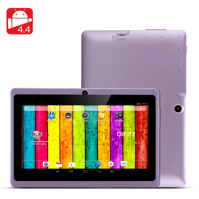 7 Inch Android 4.4 Tablet PC (Purple)