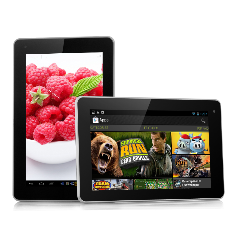 Budget 7 Inch Android Tablet - Raspberry