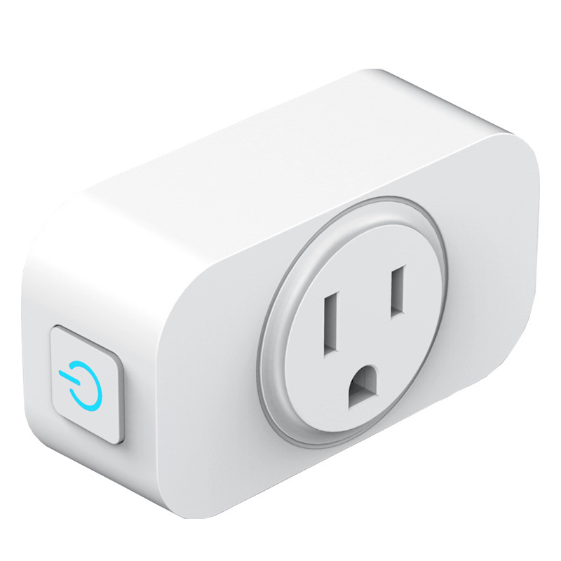 American Plug Socket Round Plug 2/3 Holes Socket With Switch On Off Power Adapter Socket Wall Outlet Socket White