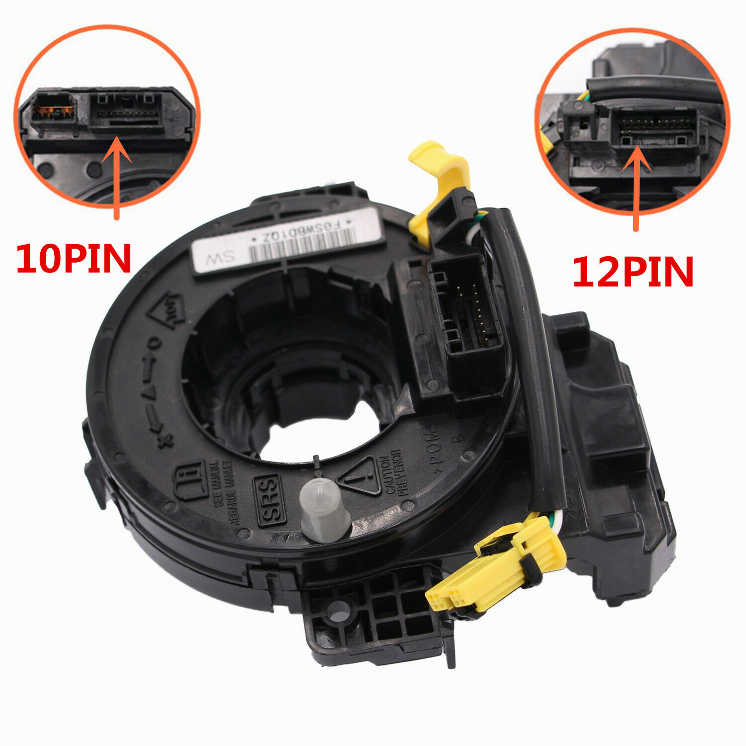 Spiral Cable Clock Spring  Accessories For 2012-2015 Honda Civic 77900-tr0-a11 As shown