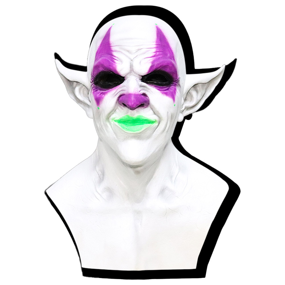 The Lord of Lies Belial Mask Scary Halloween Party Cosplay Prop Purple