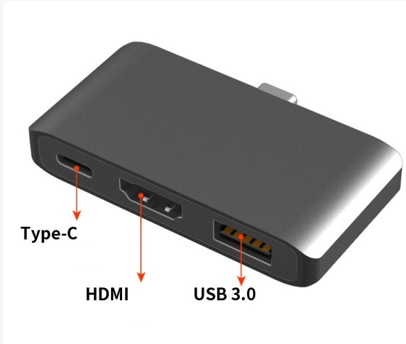 USB3.1 TypeC Hub to HDMI Adapter for Macbook