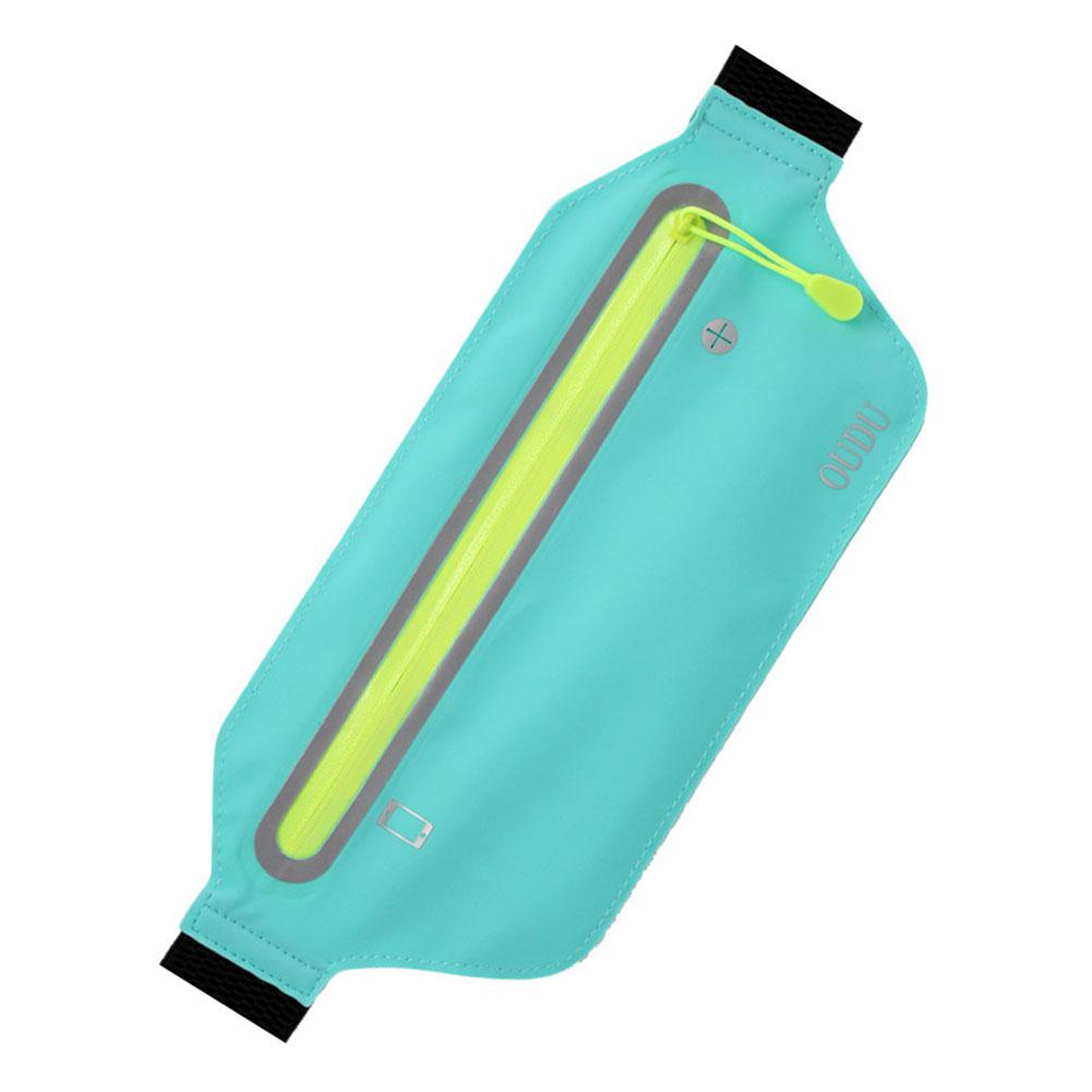 Unisex Running Sports Cell Phone Pocket Multifunction Waterproof Waistbag Lightweight Bag sky blue_6.5 inch