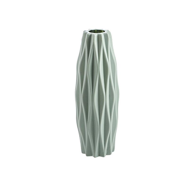 Anti-falling  Vase Flower Holder Bottle Household Decorative Ornament 3219 diamond green_As shown