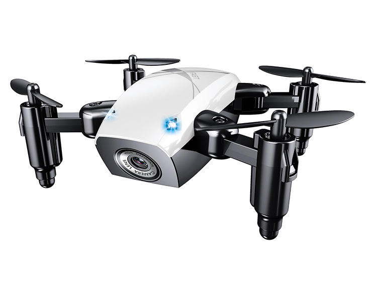 S9 Mini Folding UAV 4-Axis Aircraft White