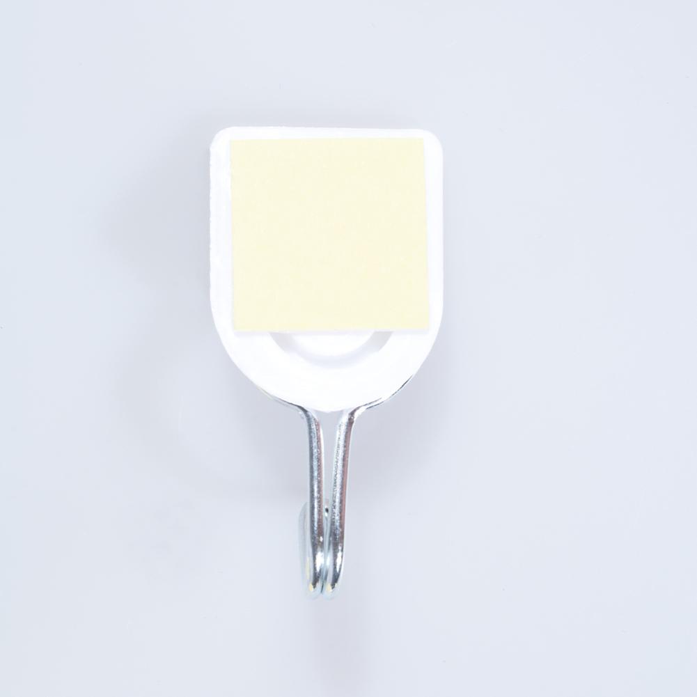 [EU Direct] 6pcs/set Creative Traceless Nailless Powerful Viscous Plastic Wall Hook Pothook