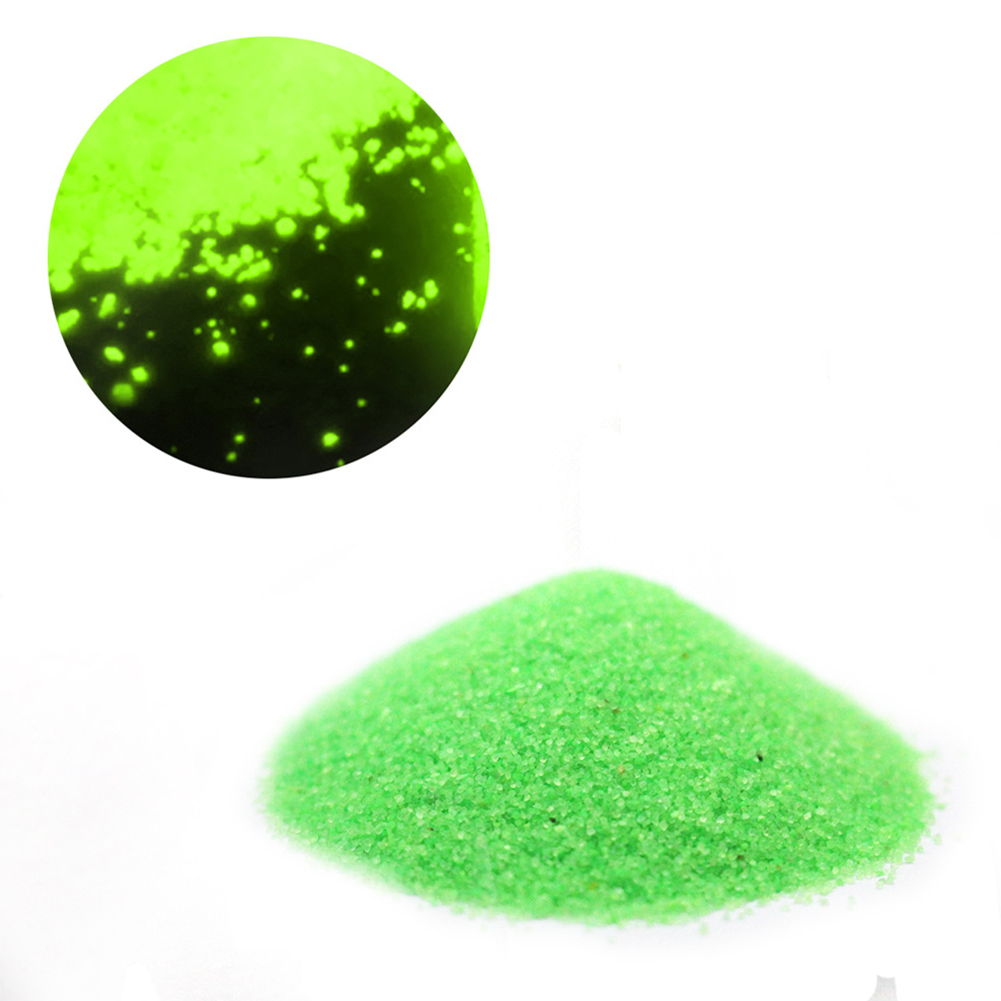50g Luminous Sand Glow in The Dark Party DIY Bright Paint Star Wishing Bottle Fluorescent Particles Toy green
