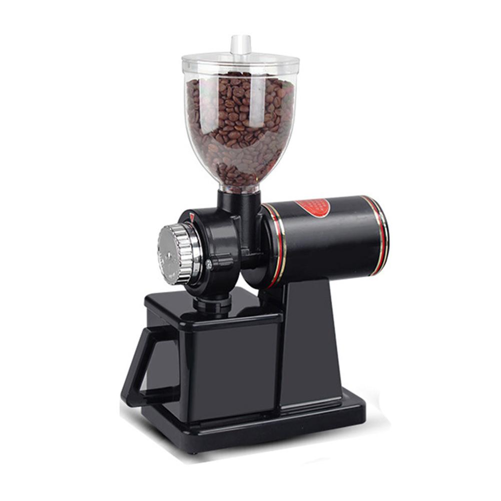 Electric Adjustable Home Coffee Grinder Bean Grinding Machine black_European regulation 220V