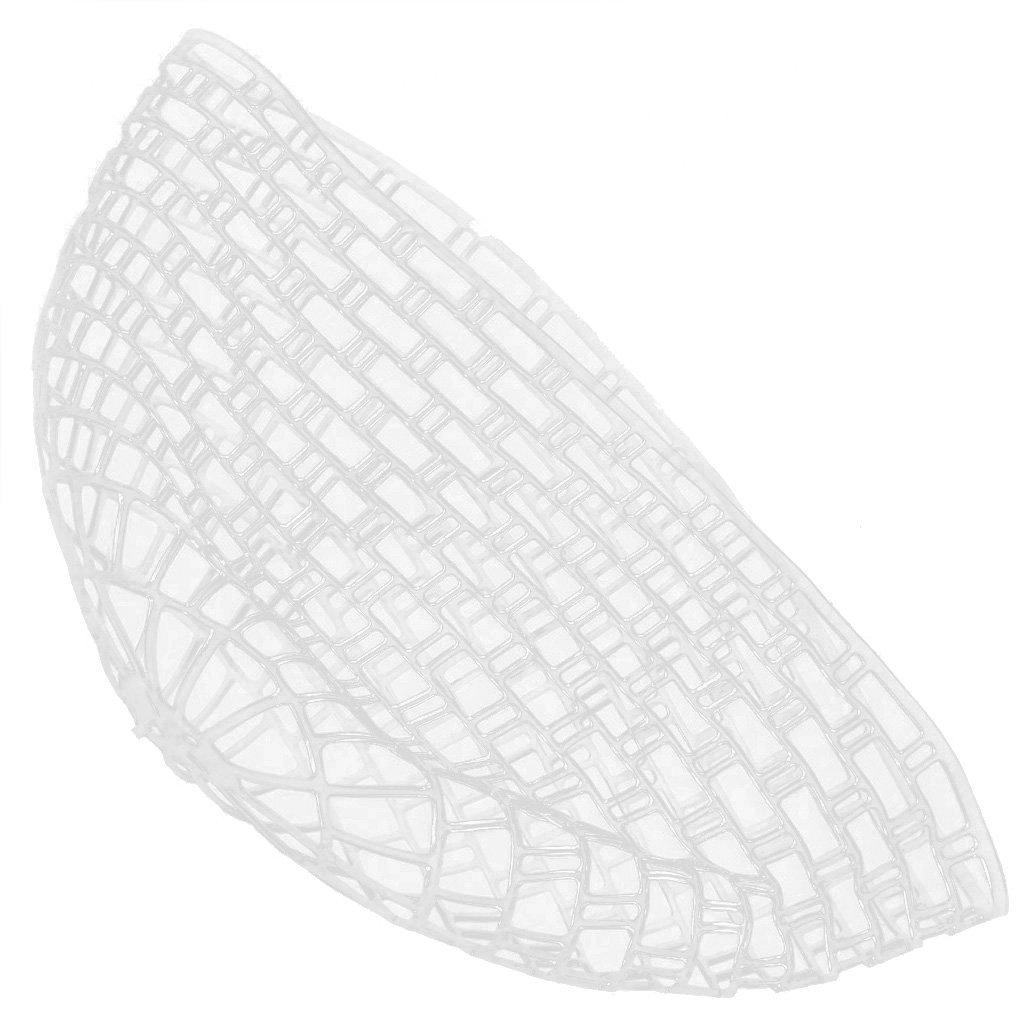 [EU Direct] 42.5 Inch Clear Replacement Net for Fly Fishing Landing Net