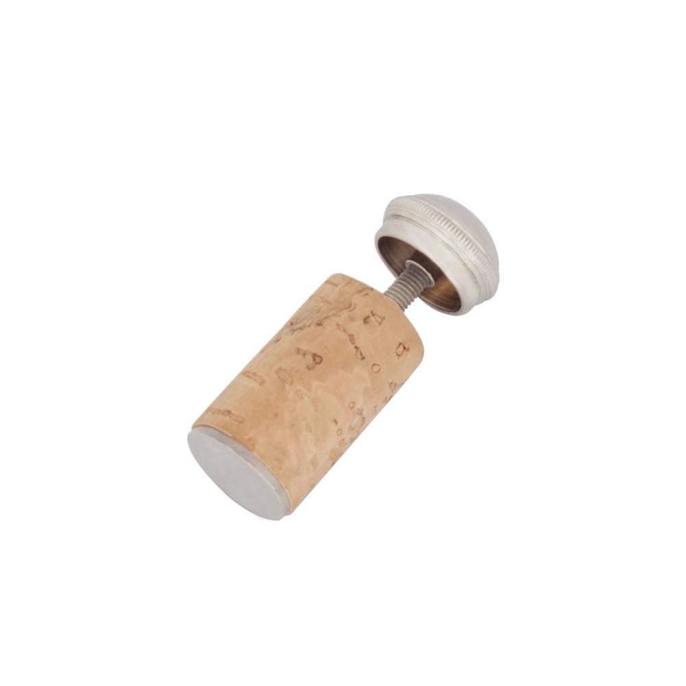 1 Piece Flute Mouthpiece Stopper Mouthpiece Copper Plug Flute Cork Plug Musical Instruments Flute Companion Wood color
