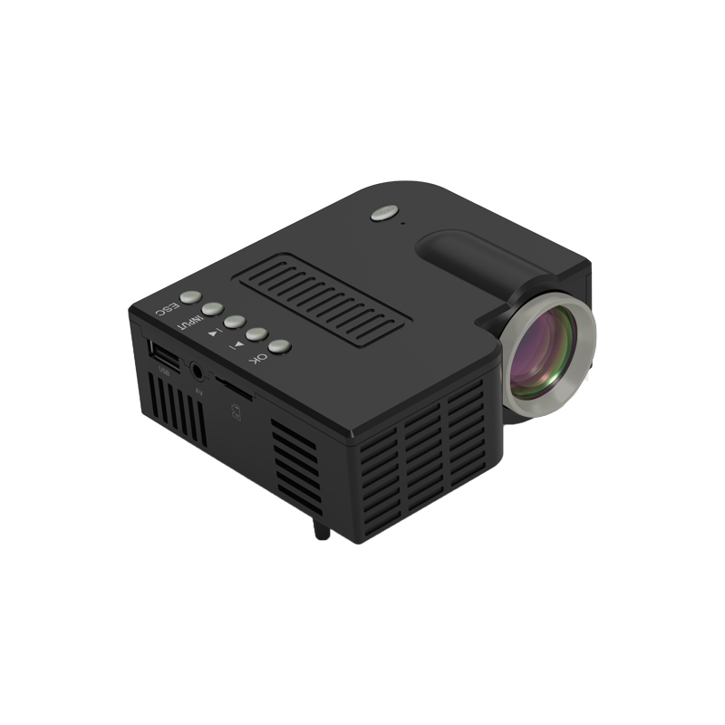 Uc28ch Home Hdmi Interface Projector Mini Portable Children Lcd Mobile  Phone  Projector black