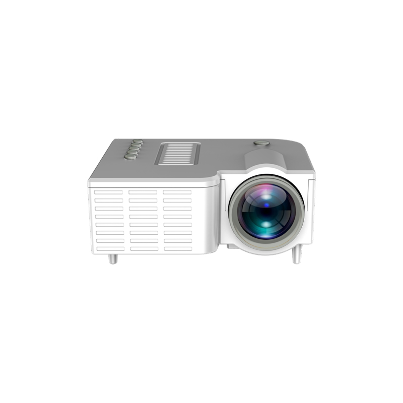 Uc28ch Home Hdmi Interface Projector Mini Portable Children Lcd Mobile  Phone  Projector white