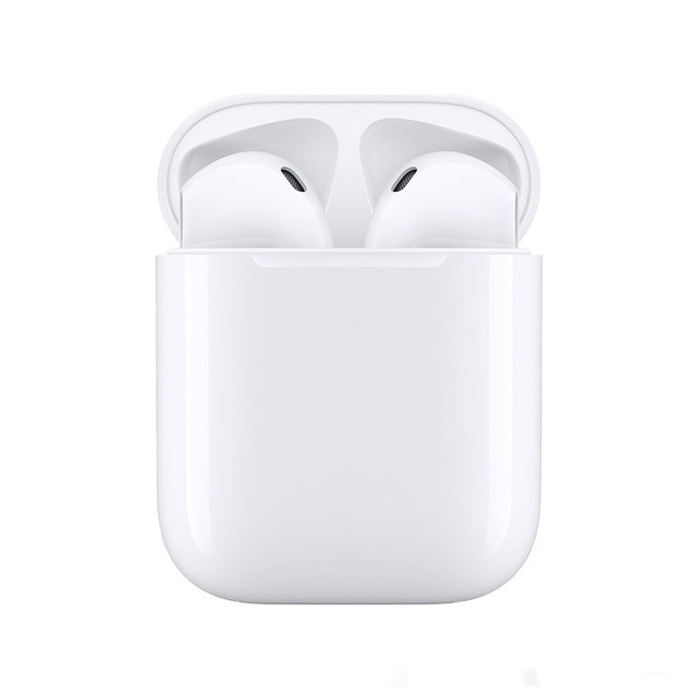Tws Wireless Bluetooth Headphones Sport Waterproof Rename Location Earphones white