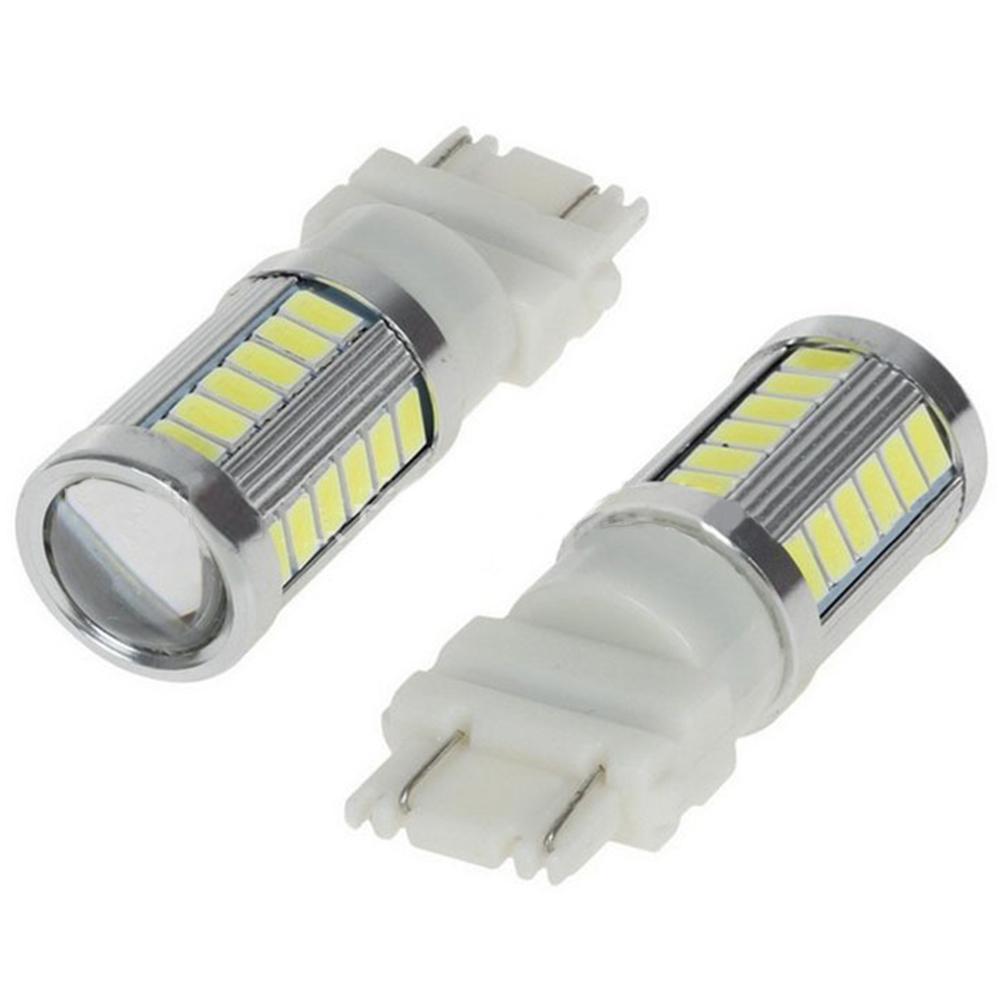 LED 1156 1157 5730 5630 33SMD Car Tail Bulb Brake Lights Auto Reverse Lamp Daytime Running Light 3157-white light