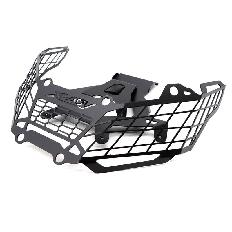 For Honda X-ADV750 XADV750 17-19 Motorcycle Headlights Shield Headlamp Cover Headlight Grille Guard black