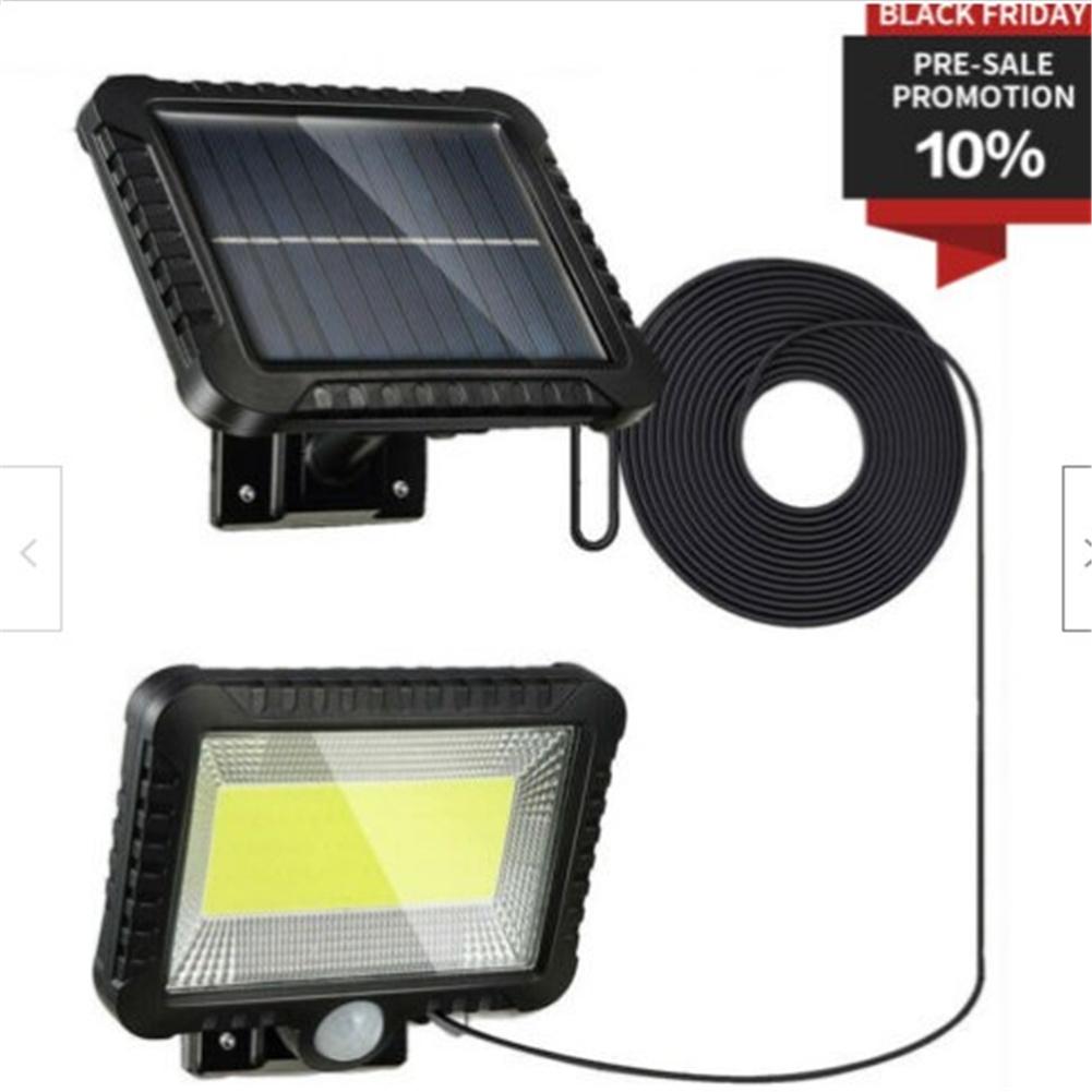 100led Solar  Light Motion Sensor Wall Light Emergency Led Light For Outdoor Street Garden Porch 100led