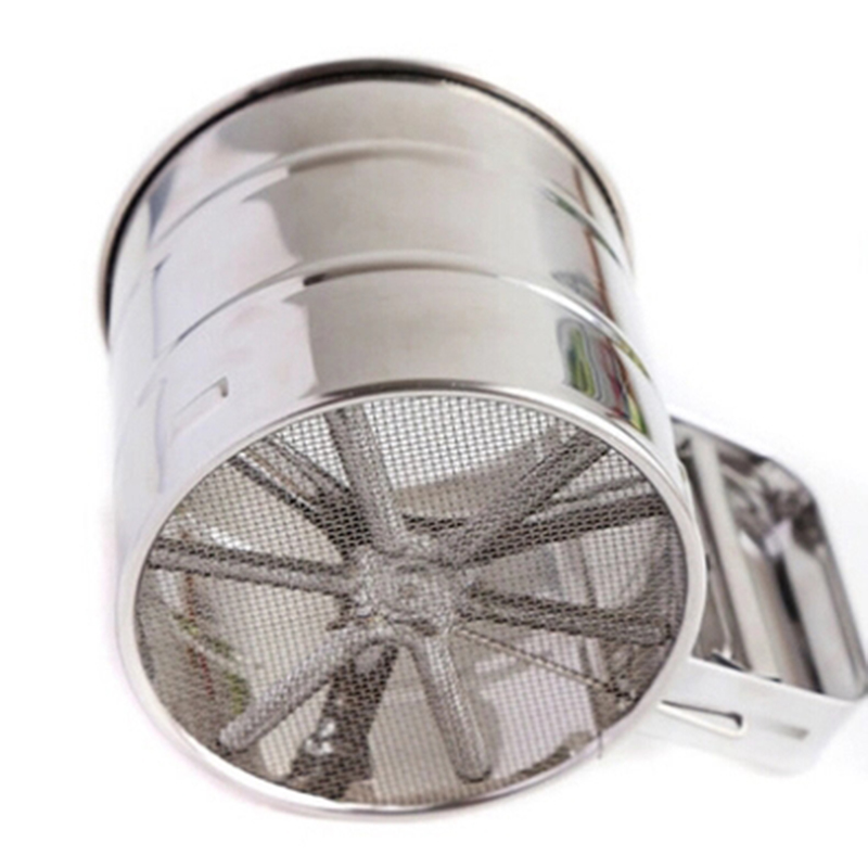 Stainless Steel Hand Sieve Cup Baking Tool