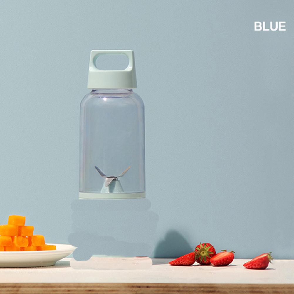 500 ML Vitamin Juicer Bottle Fruit Blender Cup Body for Juice Squeezing blue