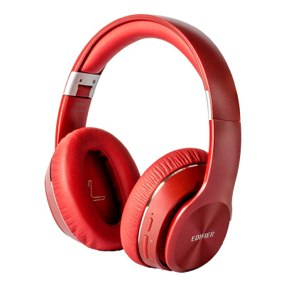 EDIFIER W820BT Bluetooth Headphones CSR Technology Foldable Wireless Earphone Dual Batteries 80 Hours Playback red