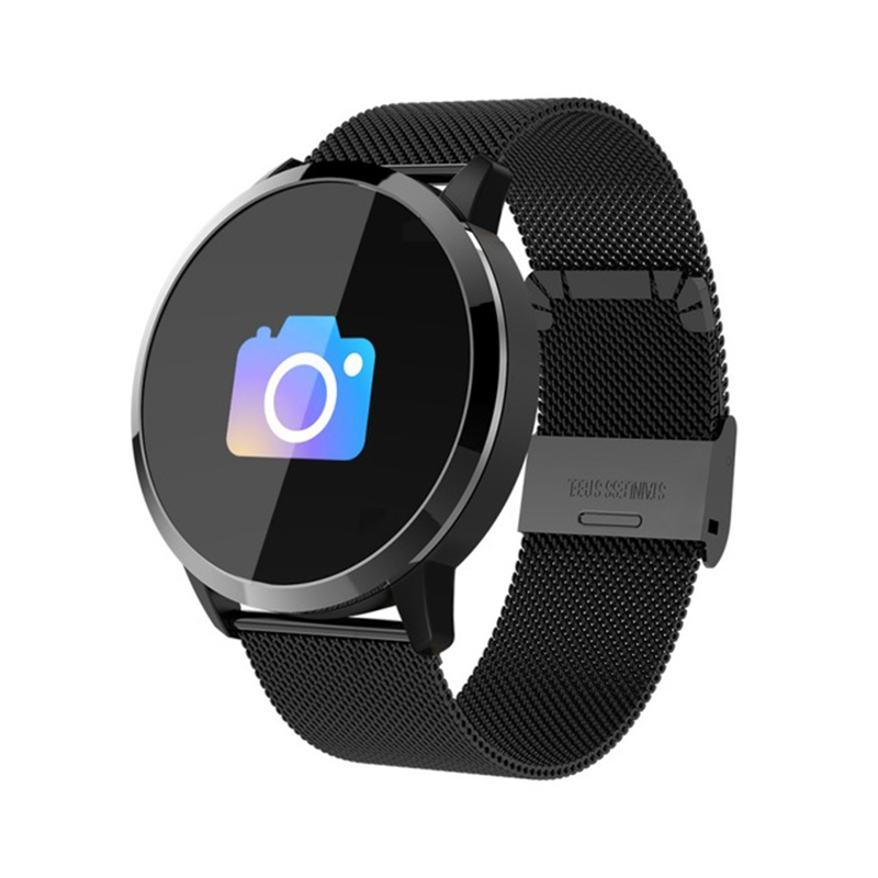 Q8 Smart Watch - Black Steel
