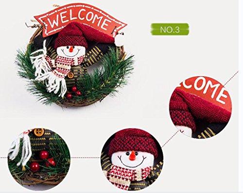 Christmas decorations Christmas ornaments Hot Toys Santa Cruz Snowman Matsuba Rattan Circle