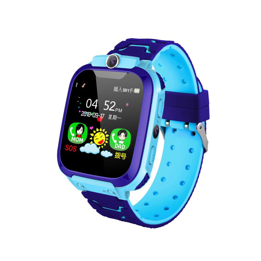 Kids Smart Watch Multifunction Children Digital Wristwatch Baby Watch Phone for IOS Android Kids Toy Gift Pink