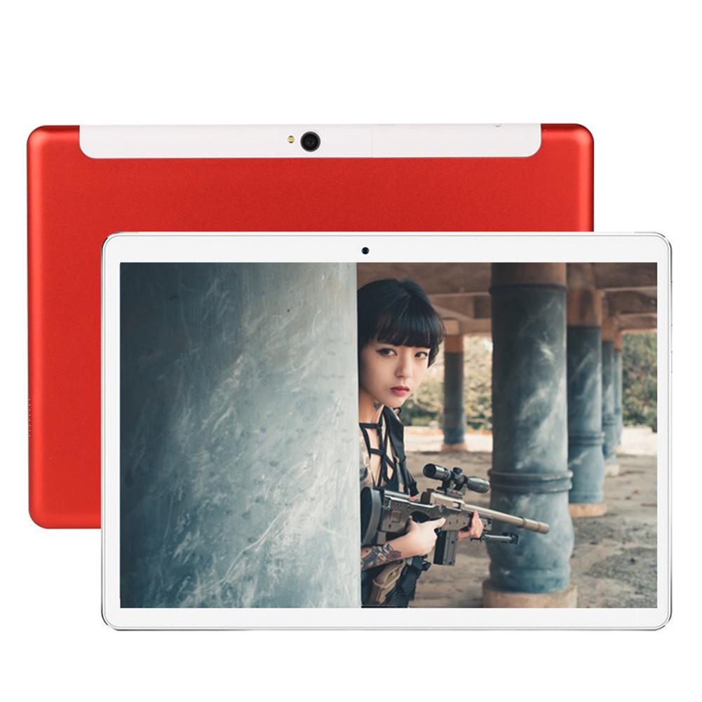 10 Inch Tablet Computer Ten Core High Definition GPS Navigation 4G Dual Card Full Netcom WIFI Red ten core 4G full Netcom game version_EU Plug