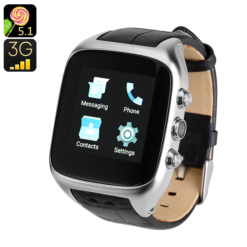 Android 5.1 3G Watch Phone
