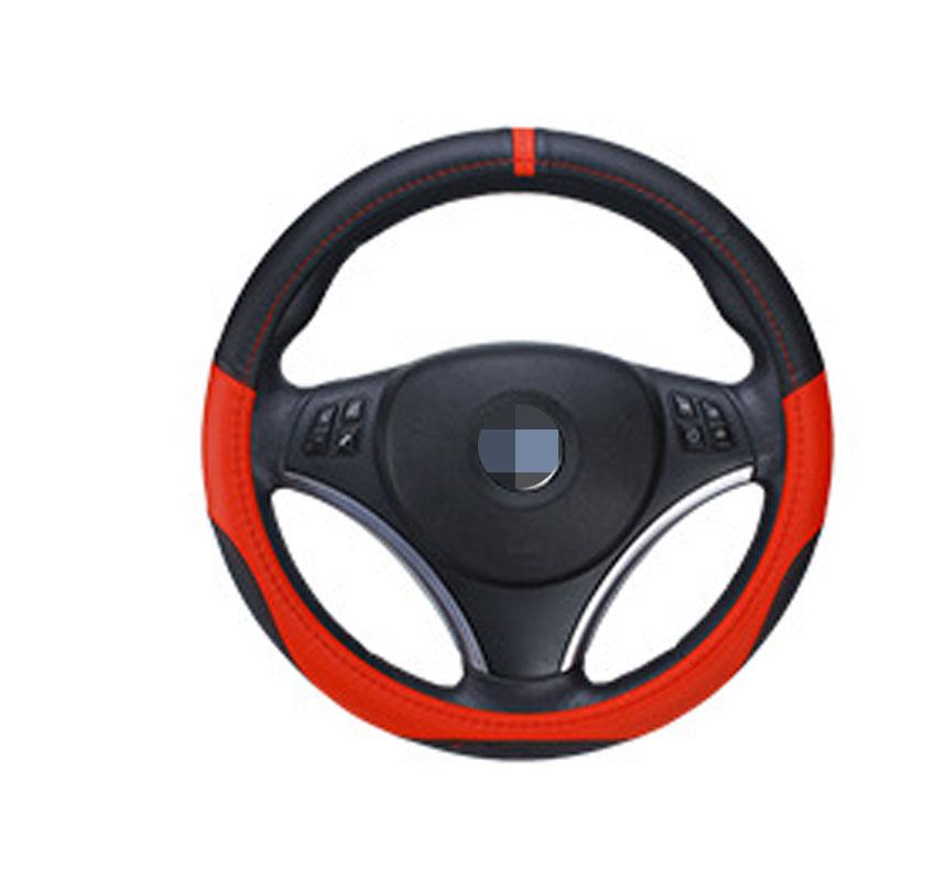 36cm 38cm 40cm Diameter Integration Seamless Car Steering Wheel Cover Sleeve for Universal Application