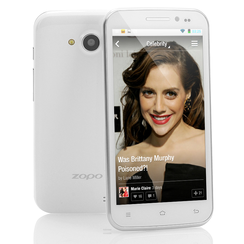 Android 4.2 Mobile Phone - ZOPO ZP820 (W)