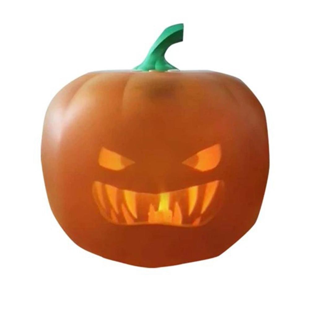 Halloween Pumpkin Projection Lamp Talking Animated Pumpkin Light Party Decoration European plug
