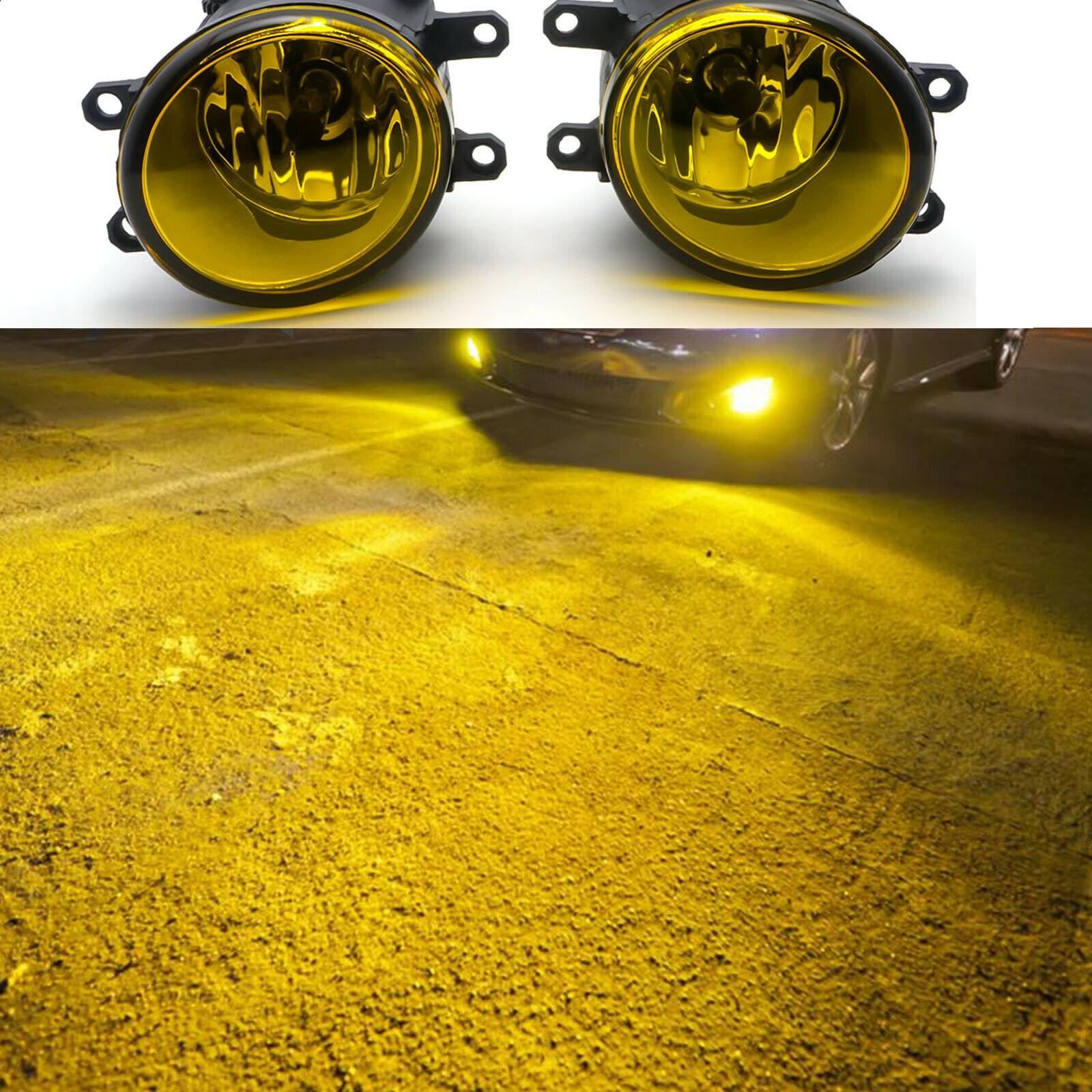 Suitable For Crown Reiz Corolla Rav4 Highlander Vios Camry Front Fog Lamp Left And Right 8121006071 812200d042 Yellow light
