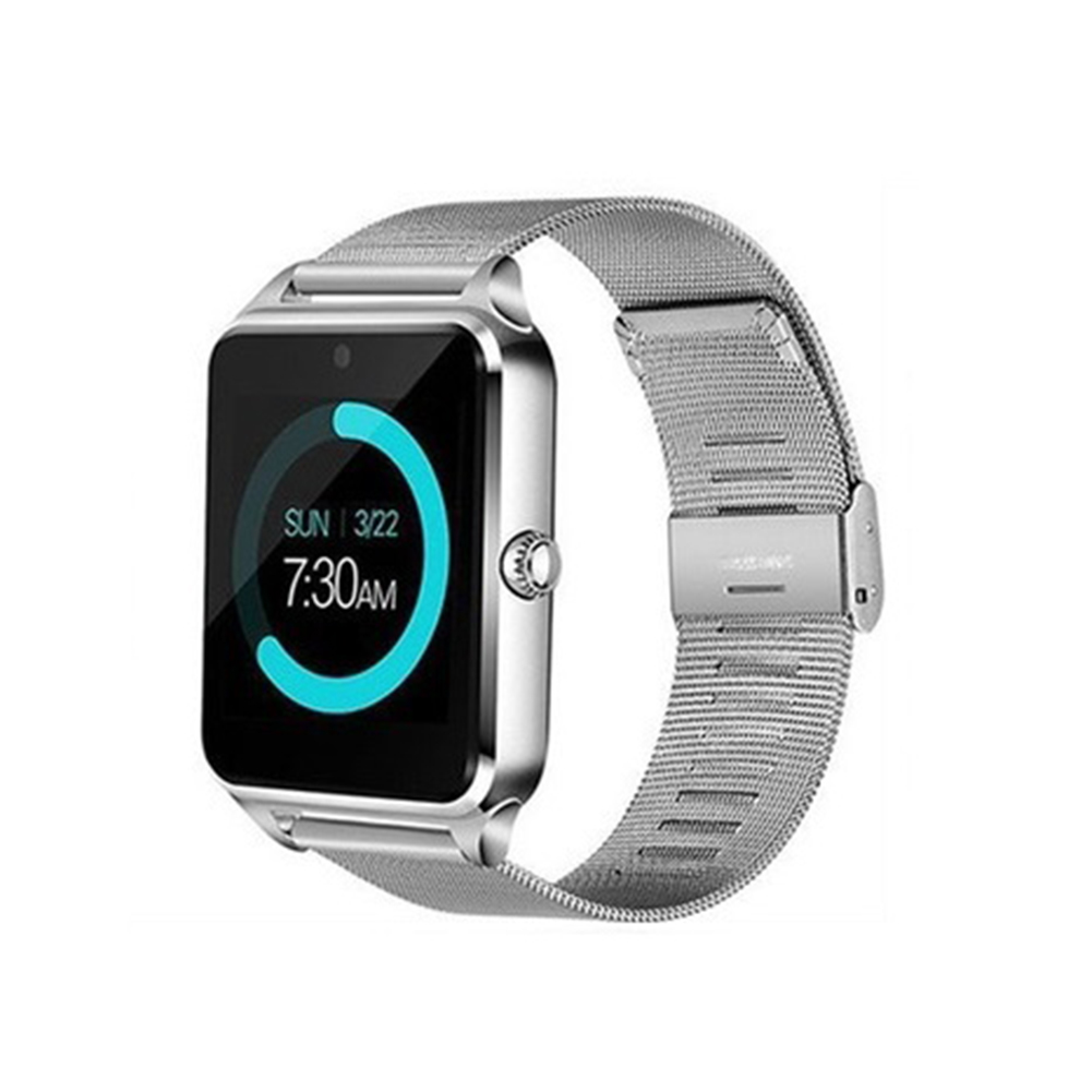 Smart Watch Wristband Sports Fitness Blood Pressure Heart Rate Call Message Reminder Android Pedometer Silver