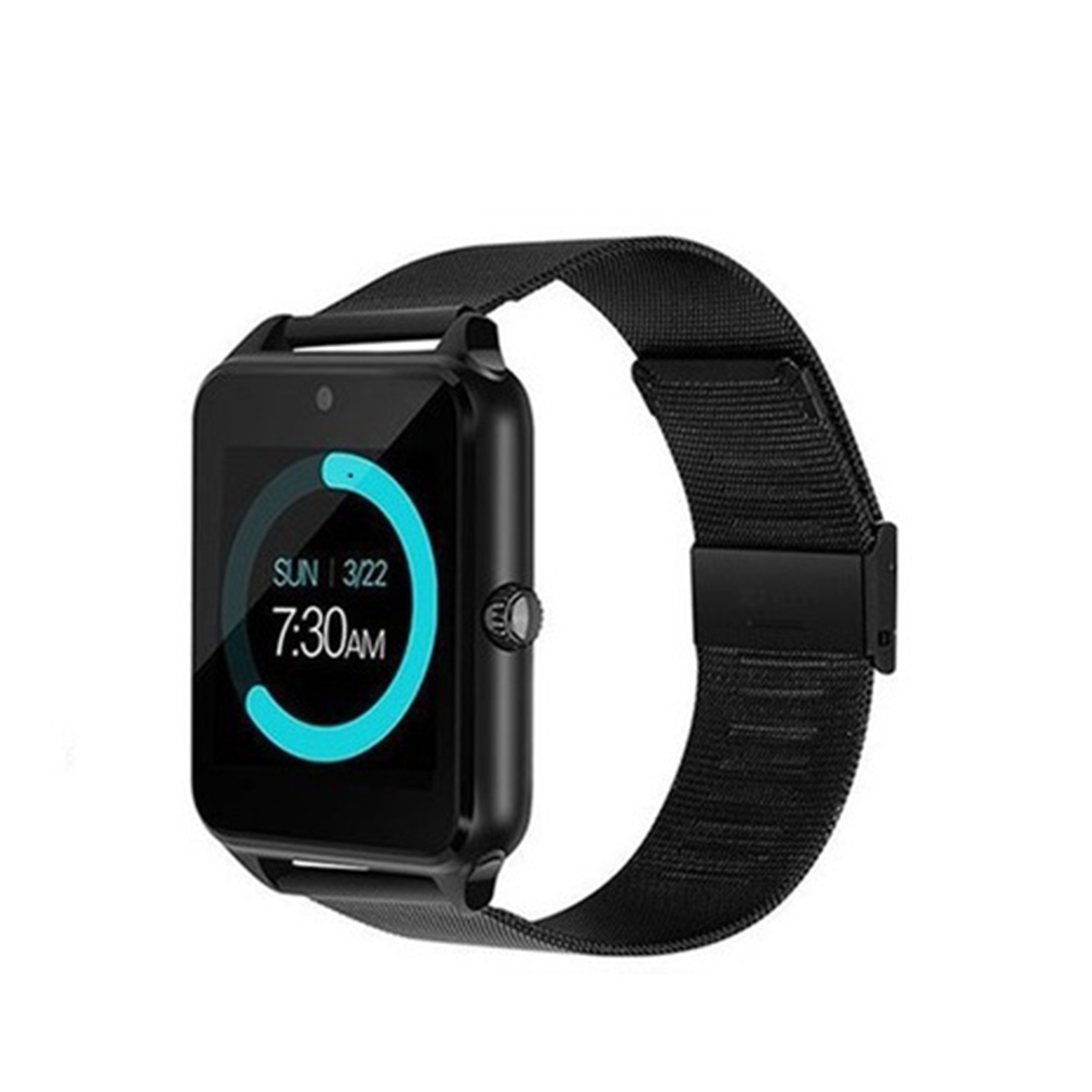Smart Watch Wristband Sports Fitness Blood Pressure Heart Rate Call Message Reminder Android Pedometer black