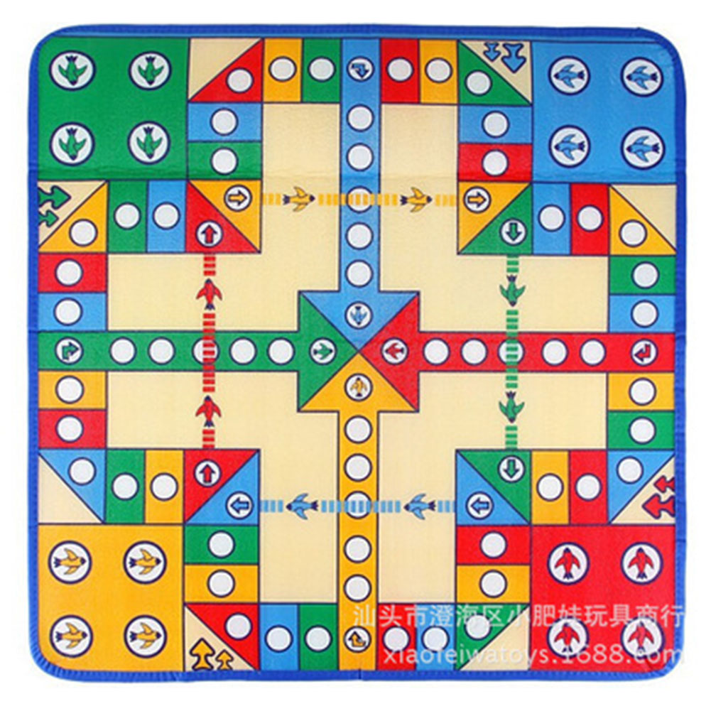 Baby Crawling Mat Game Pad Climbing Pad Carpet Flight Chess Playmat Rug For Kids Play Carpet Playing Mat Puzzles Toys 82 * 82 flight blanket