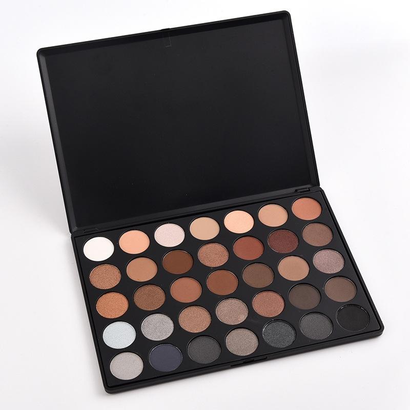 SaiDeng Warm 35 Colors Eyeshadow Makeup Palette Eye Shadow Pigments Cosmetic 01