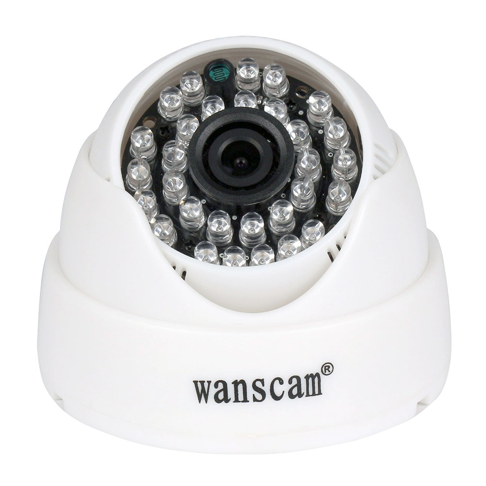US WANSCAM HD 720P IP WIFI Dome Security Camera