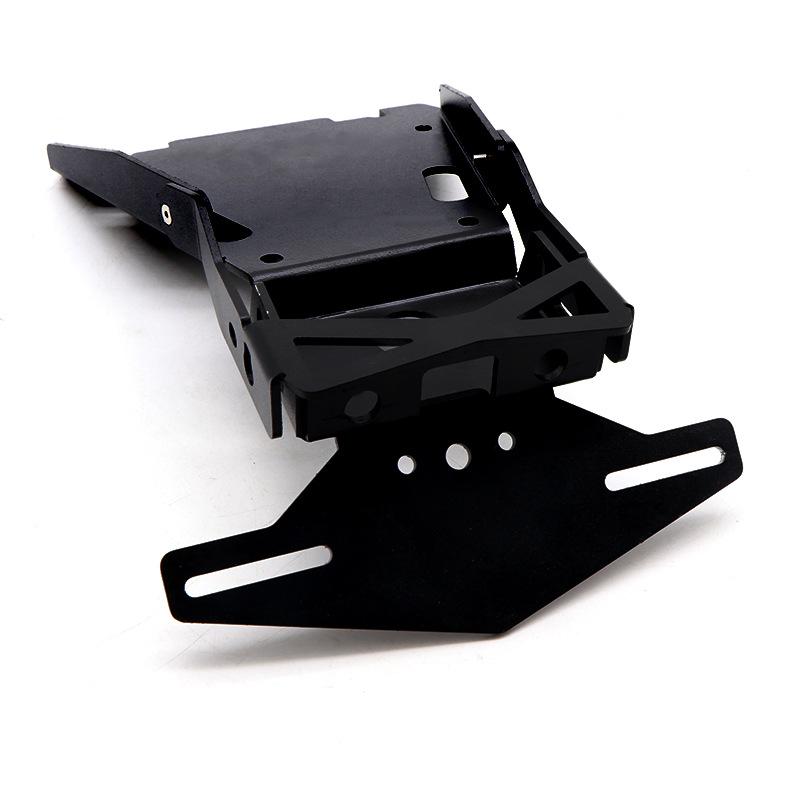 Motorcycle Rear Tail Mount License Bracket Plate Holder Frame for BMW R NINE T black