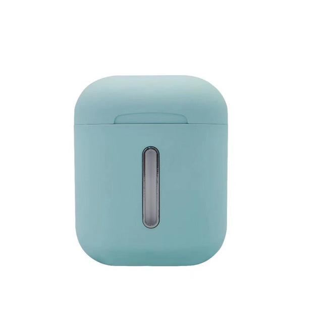 Macaroom Q8L Bluetooth 5.0 TWS Earbud Touch Control Headphone Pop-up 8D Stereo Wireless Earphone blue