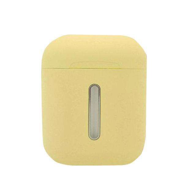 Macaroom Q8L Bluetooth 5.0 TWS Earbud Touch Control Headphone Pop-up 8D Stereo Wireless Earphone yellow