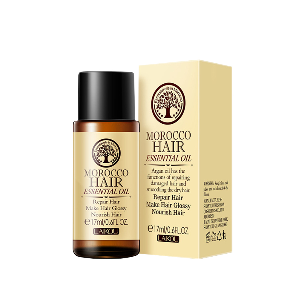 Hair Care Essential Oils No-wash Curly Hair Repair Frizzy Perm And Damaged Essential Oil 17ml