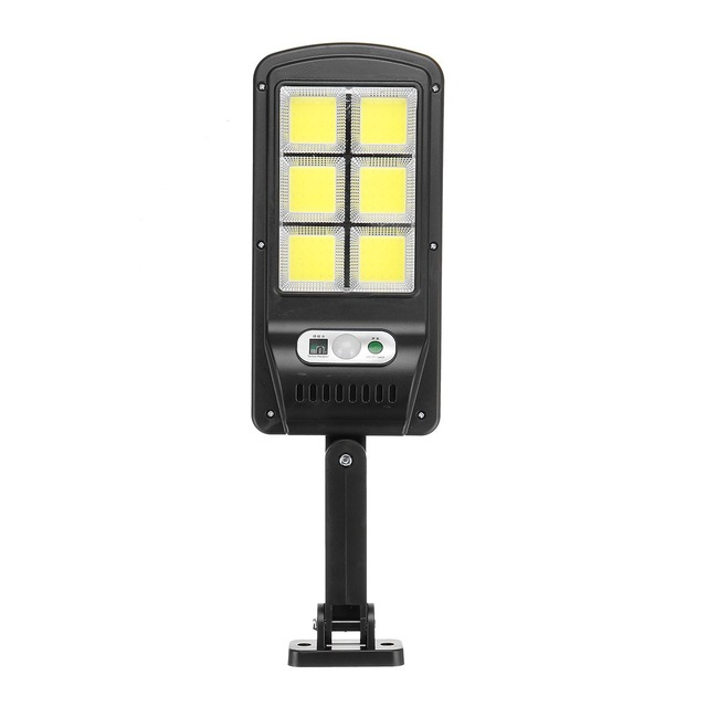 Led Solar Street Lights Outdoor Security Lighting Wall Lamp Waterproof Motion Sensor Smart Control Lamp 2120 six-sided